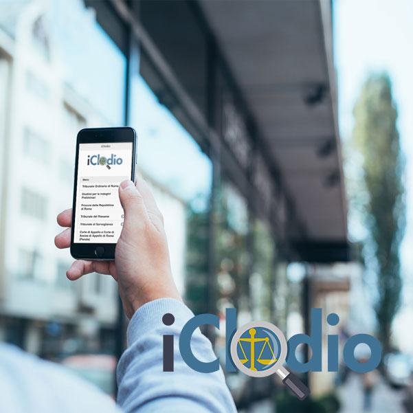 iClodio - La tua guida al tribunale penale di Roma per iOS e Android